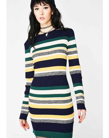 Bad Remedy Striped Dress