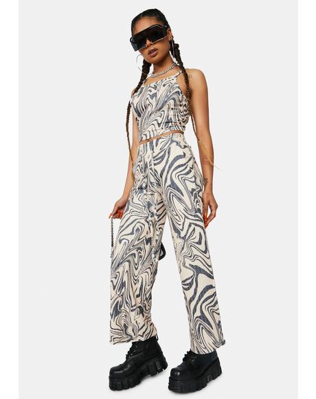 Psychedelic Swirl Hailey Pajama Pants