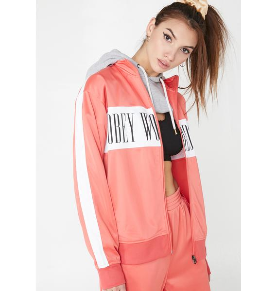 Obey Cashed Out Zip Hood