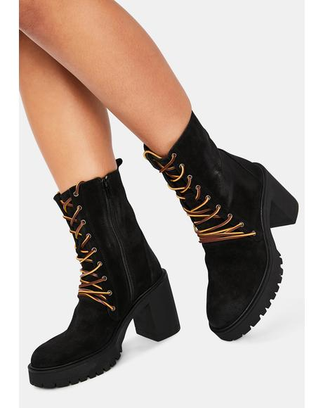 Dylan Lace Up Boots