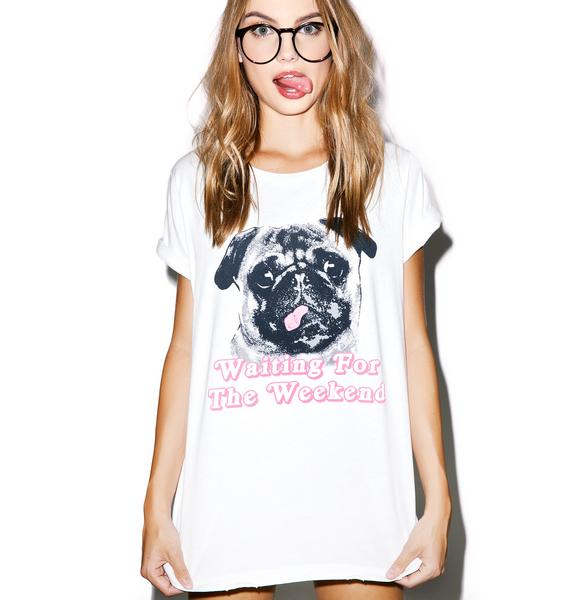 Wildfox Couture Woof Weekend Heights Crew