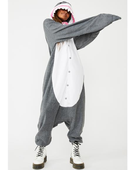 Shark Bait Onesie Costume
