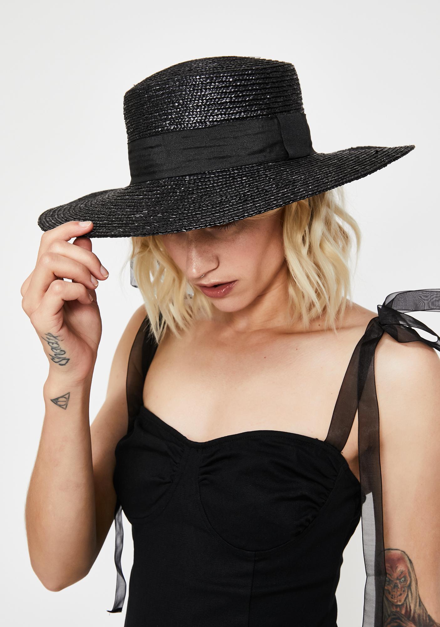 Bad Habitz Wide Brim Hat