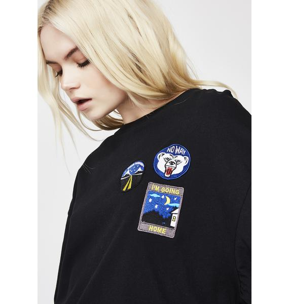 Insight Holiday Patch Long Sleeve Tee