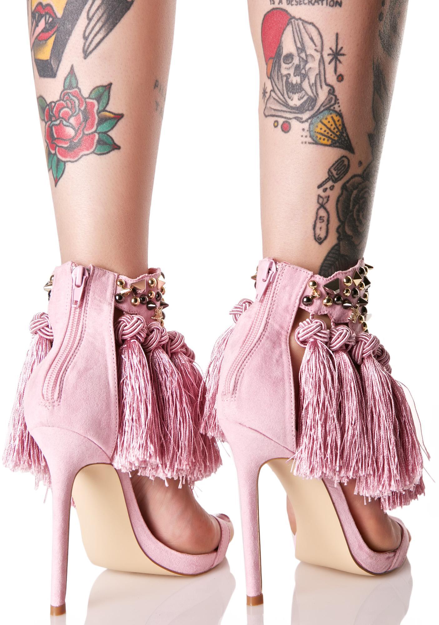 Privileged Ciao Bella Tassel Heels
