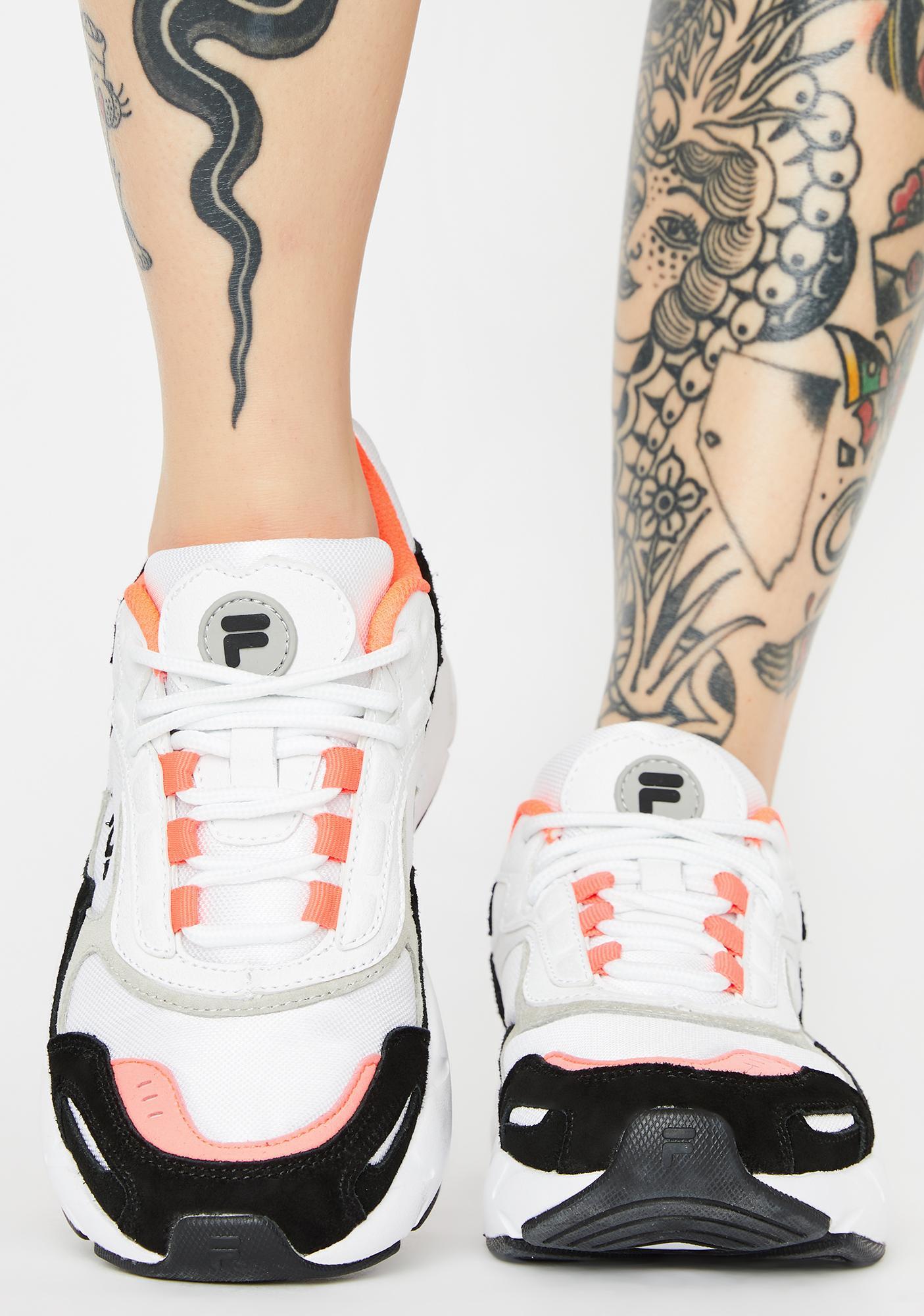 Fila White Luminance Sneakers