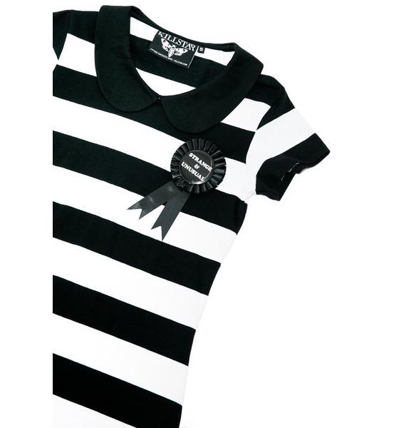 Killstar Strange Suspender Dress