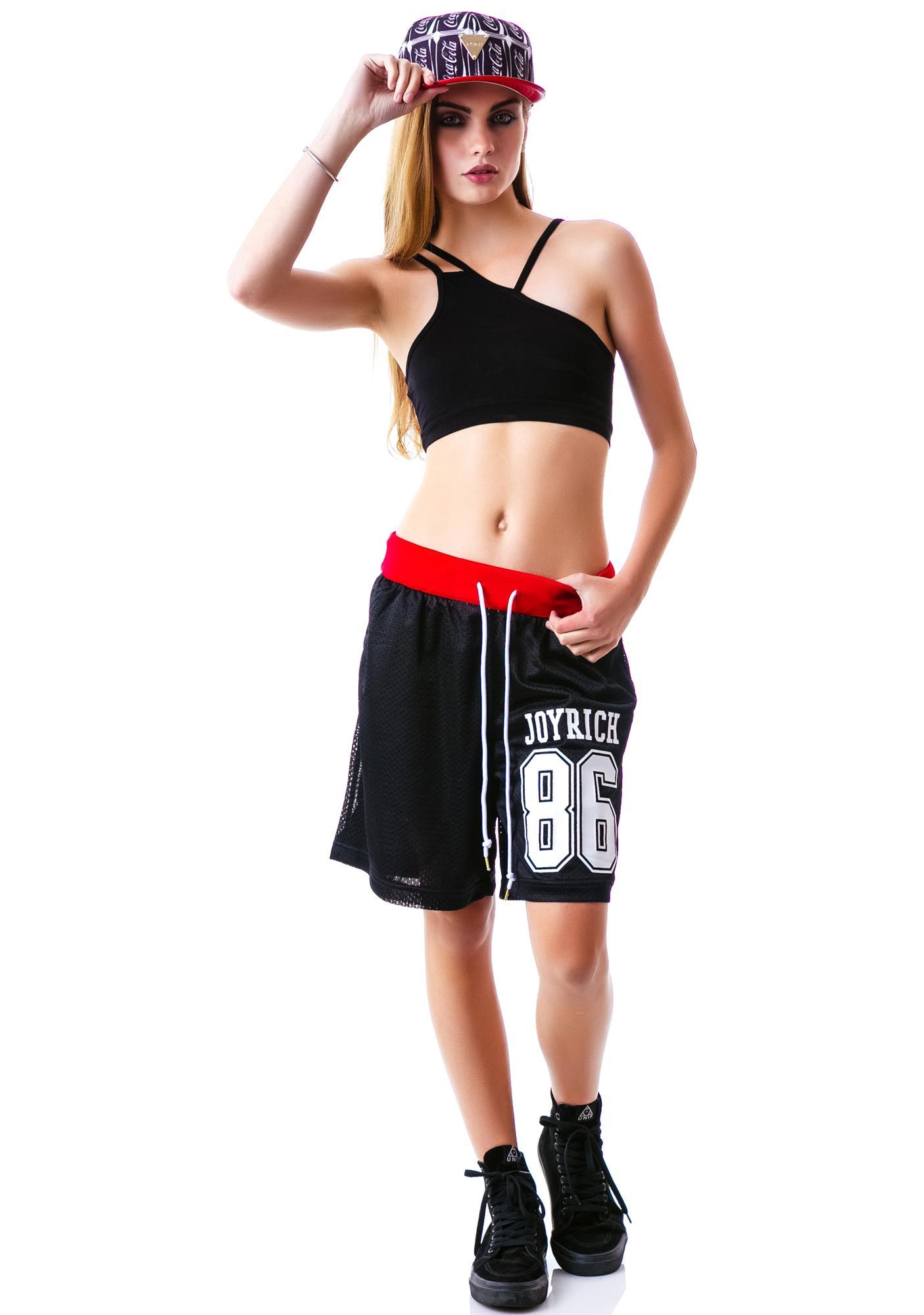 Joyrich Coco-Cola Number Mesh Shorts