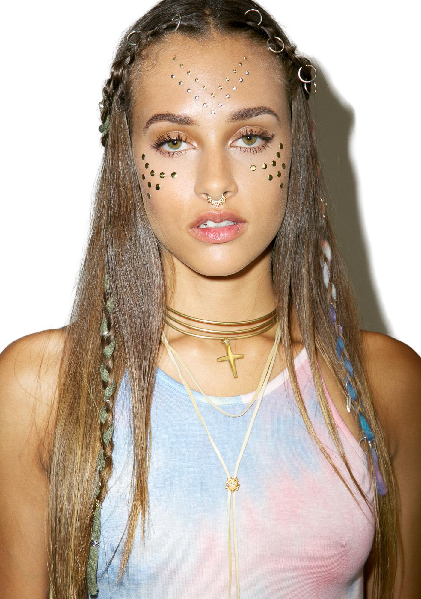 Phoenix Face Jewels