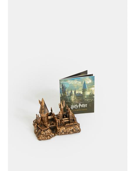 Miniature Hogwarts Castle & Sticker Book