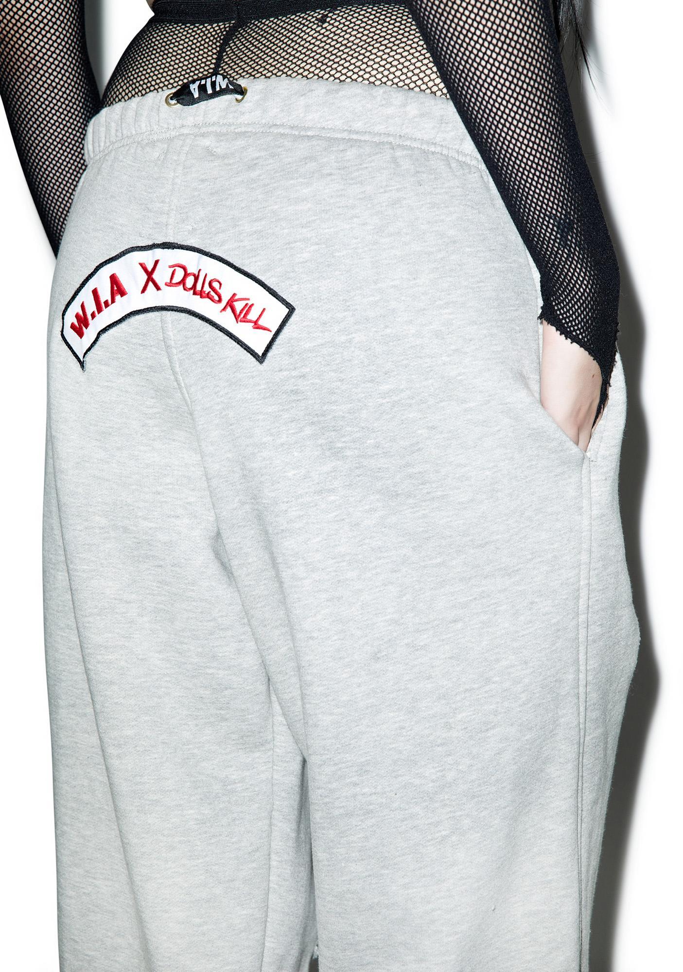 W.I.A Hole Sweatpants