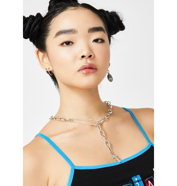 Broken Faith Chain Necklace