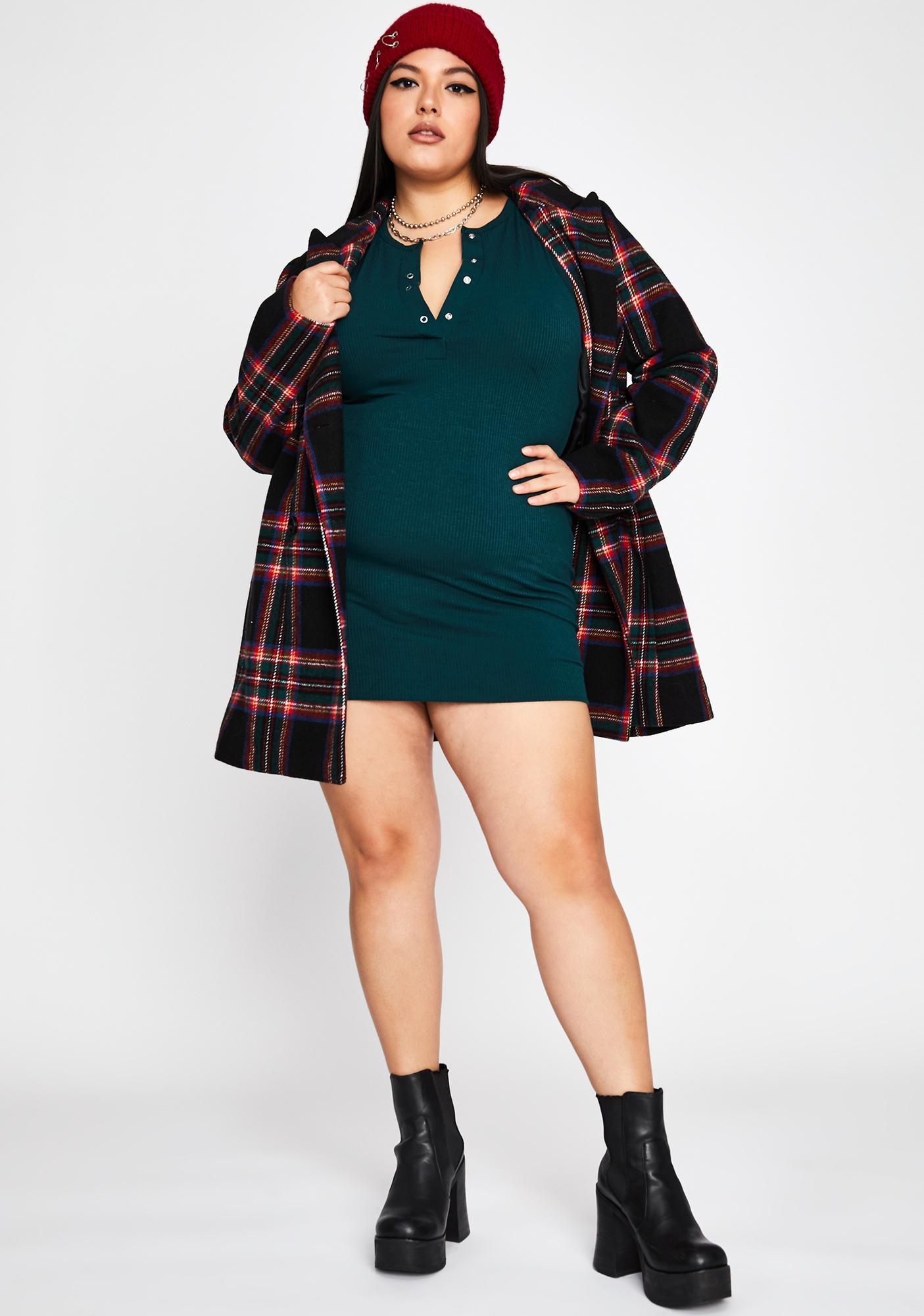 Lush Cozy Couture Sleeveless Dress