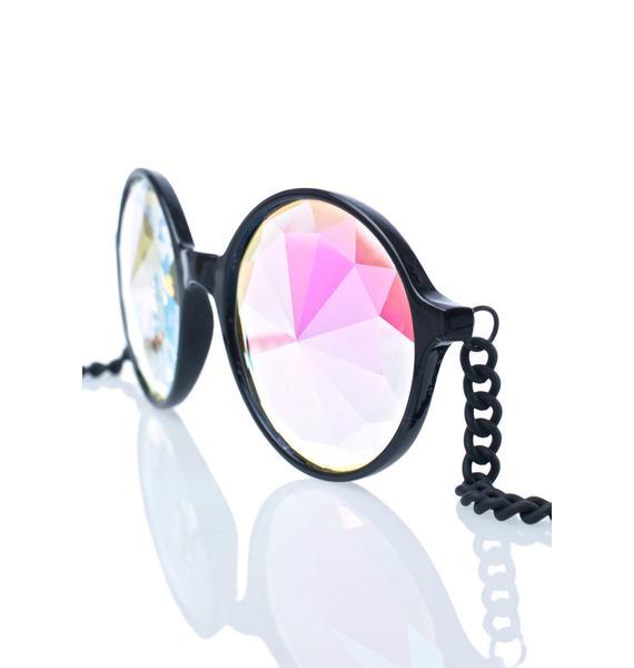 My Willows Mosaic Kaleidoscope Sunglasses