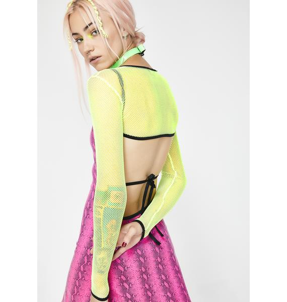 Club Exx Bumpin' Neon Shrug