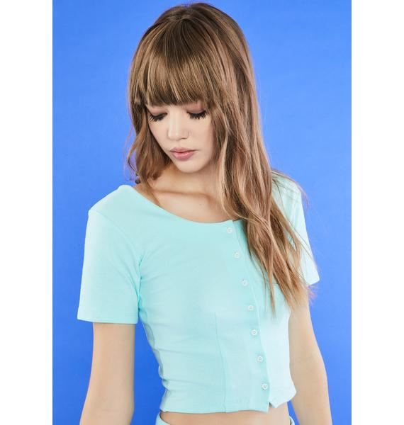 dELiA*s by Dolls Kill The Girls Room Button Up Tee