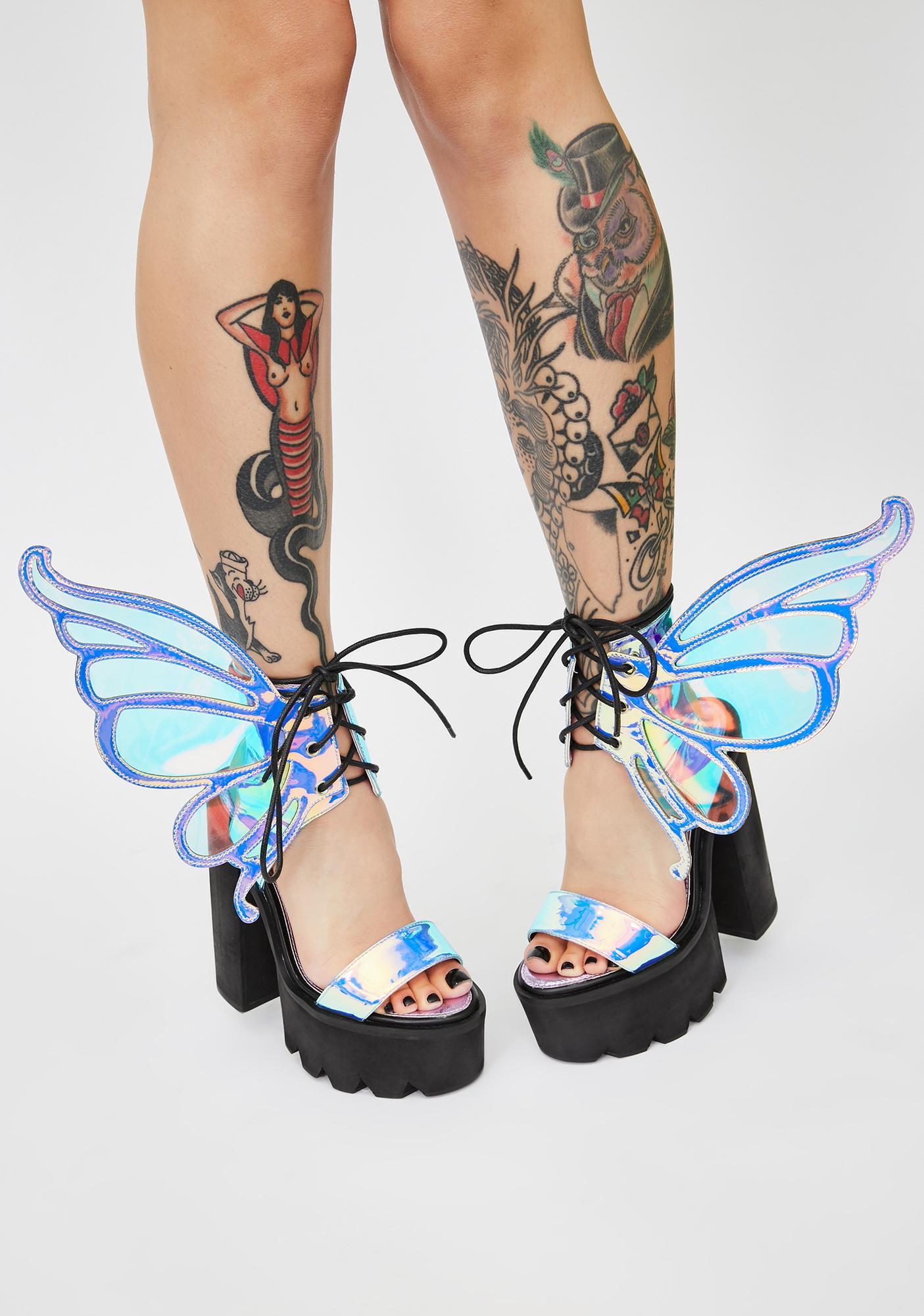 HOROSCOPEZ Pixie Princess Winged Heels