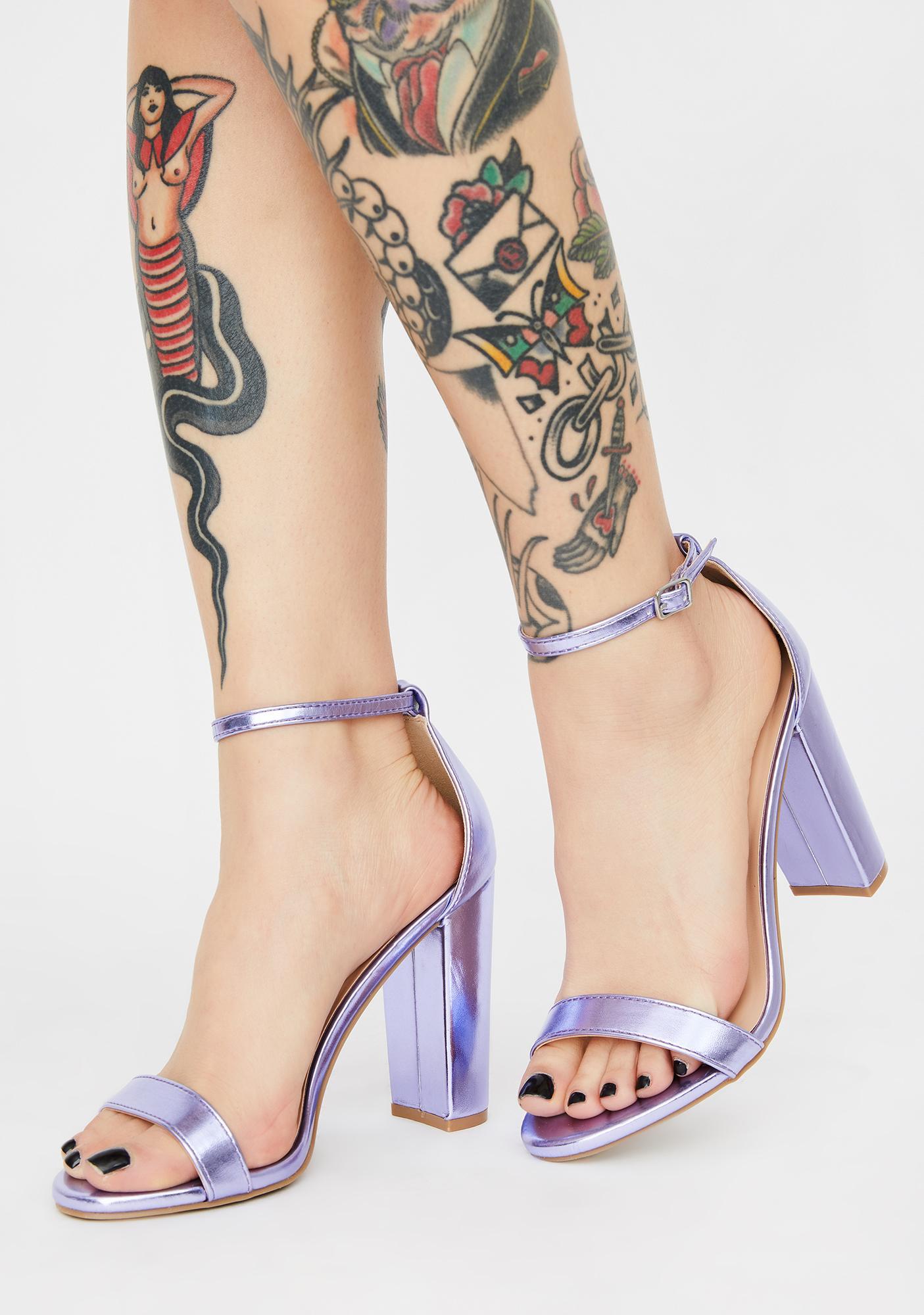 Lilac Illuminating Thoughts Heels