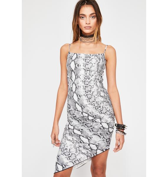 Wild Onez Snakeskin Dress
