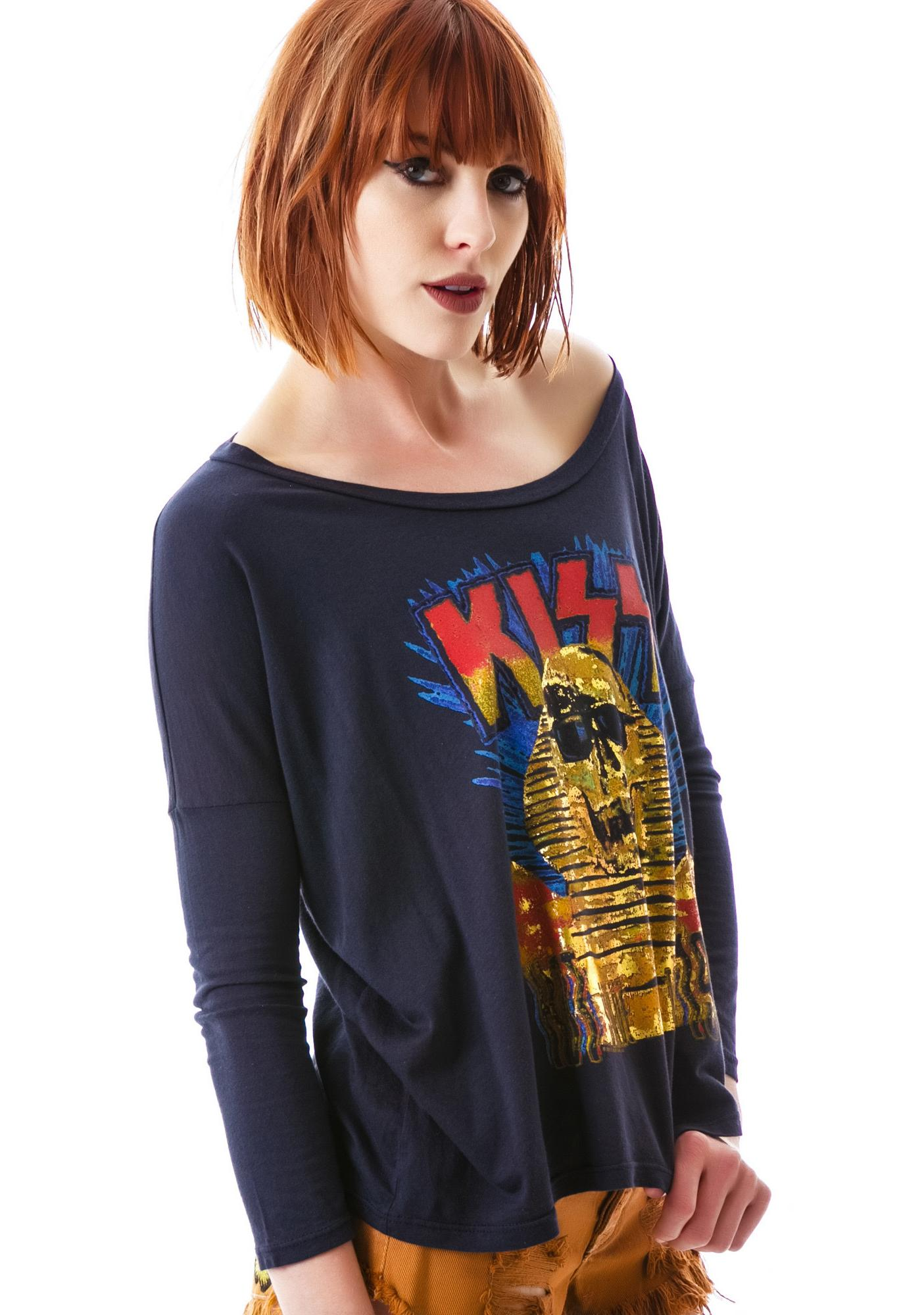 Junk Food Clothing Kiss Tee
