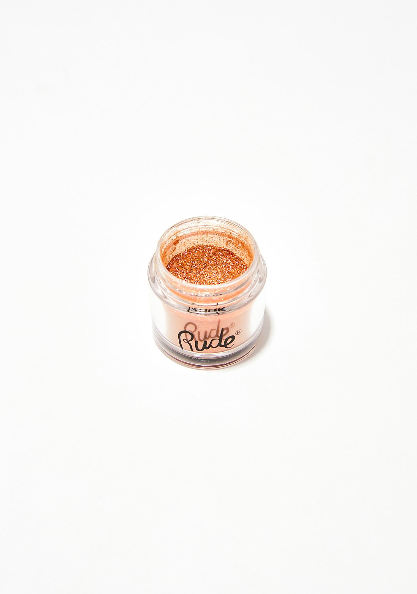 Rude Cosmetics So Much Sass Bling It On Pigment