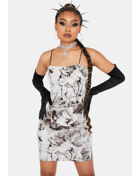 Chiseled Charm Bodycon Dress