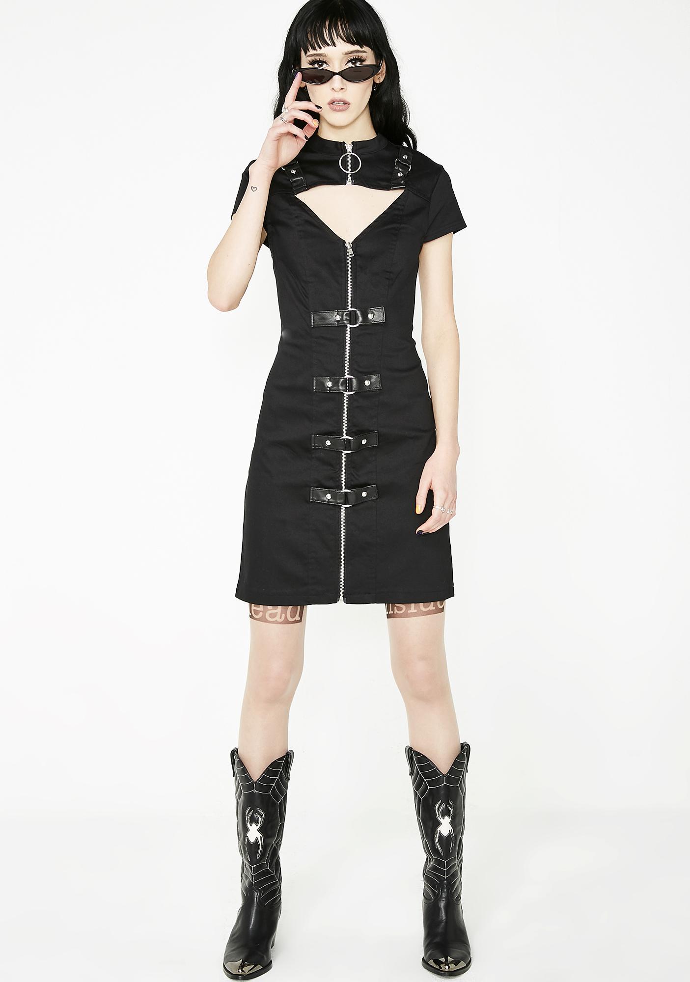 Killstar Casey Bodycon Dress