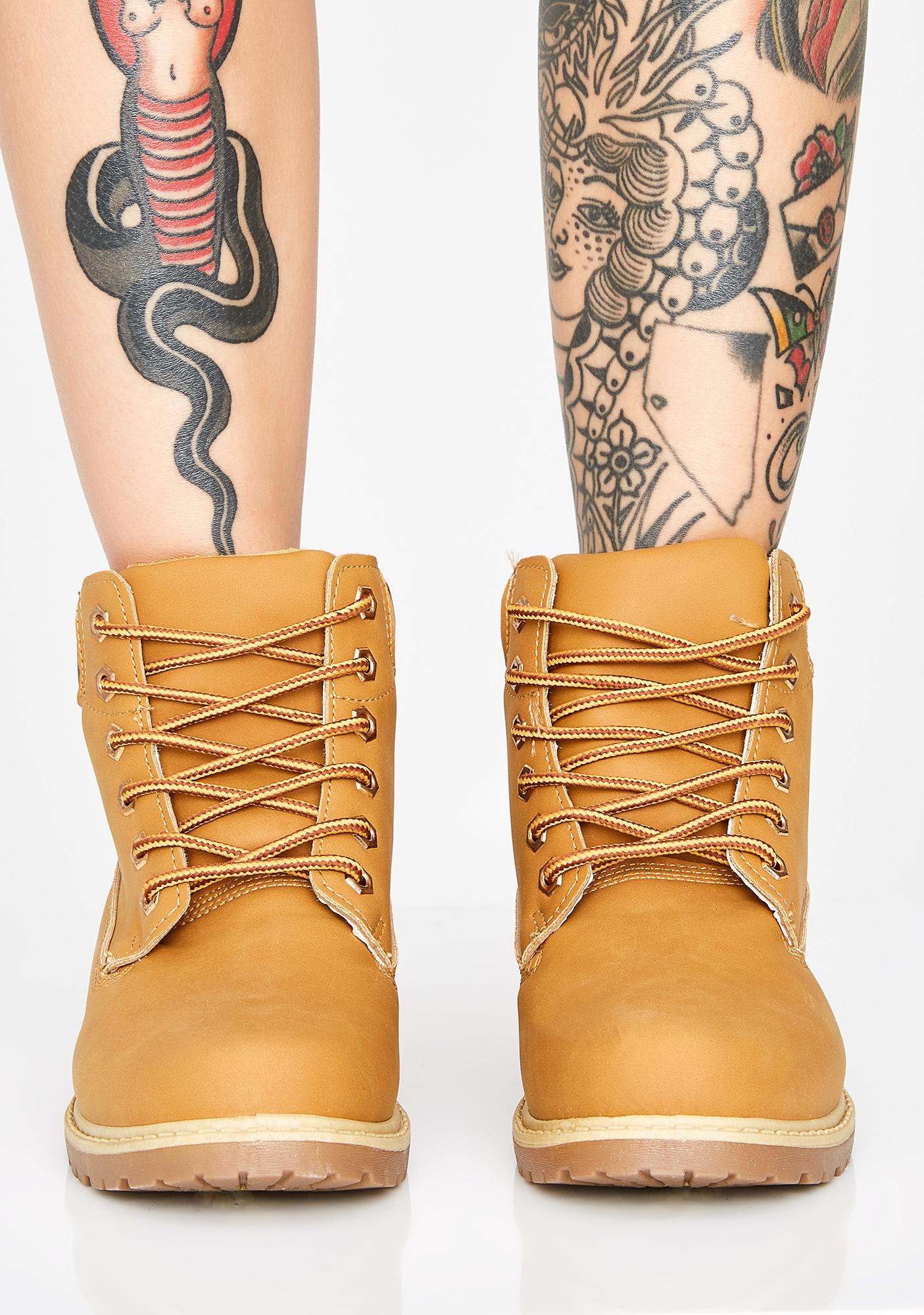 Time Punch Combat Boots