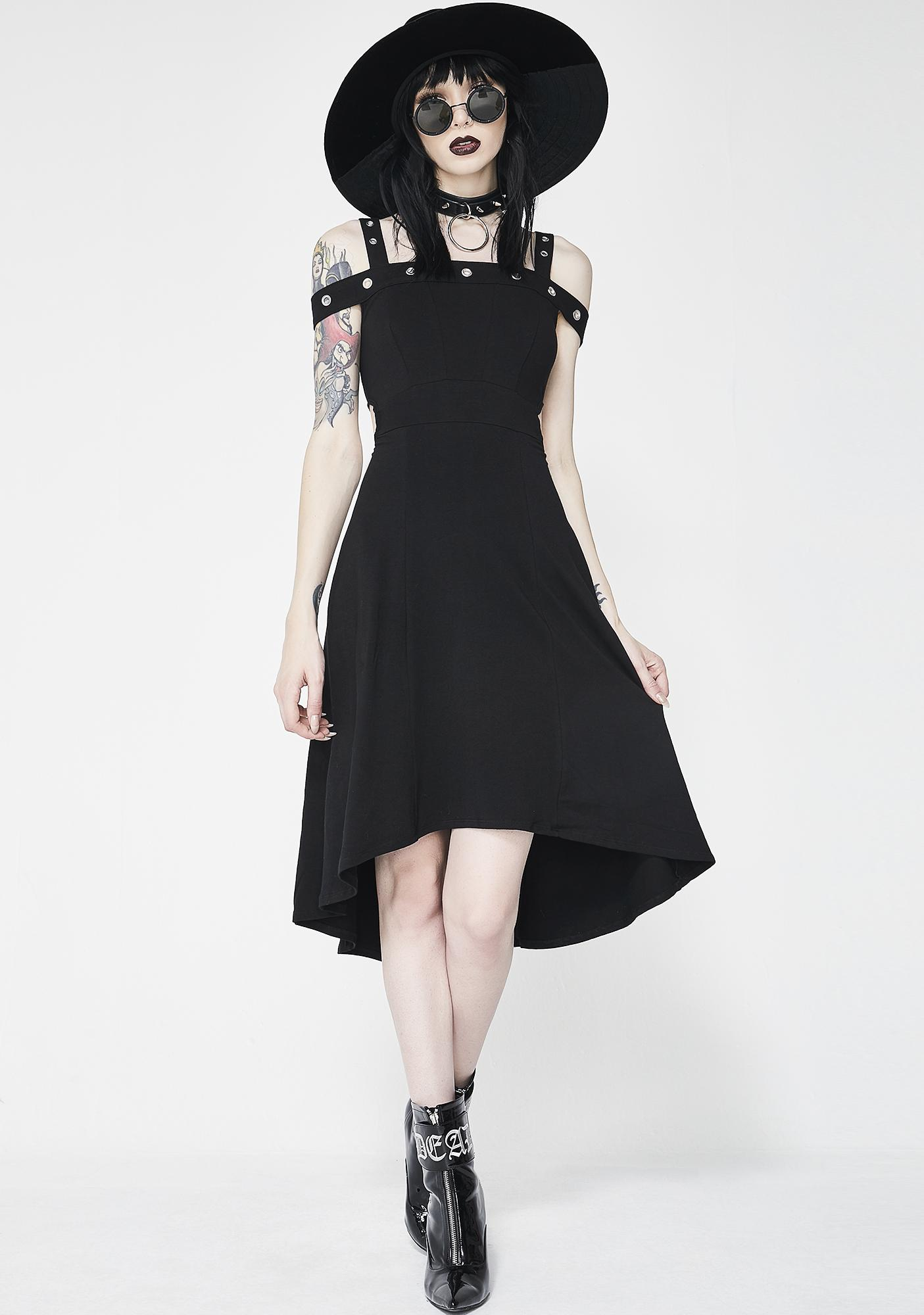 Tripp NYC Grommet Hi Lo Dress