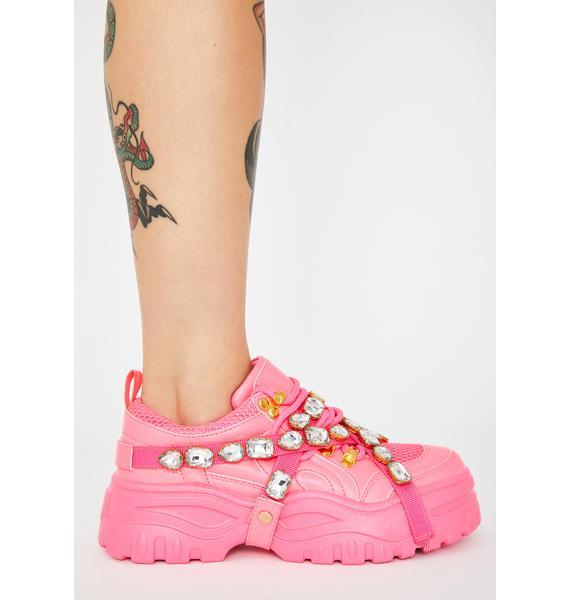 Miss Stackin' Dough Platform Sneakers