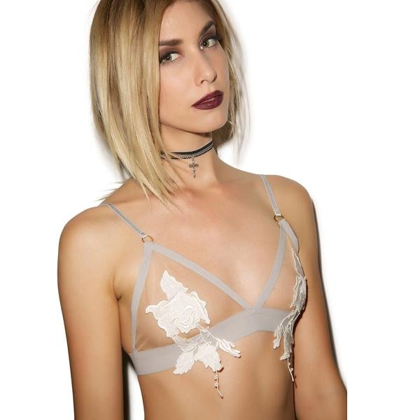 For Love & Lemons Rose Bud Bra