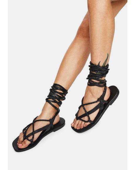 Positano Wrap Sandals