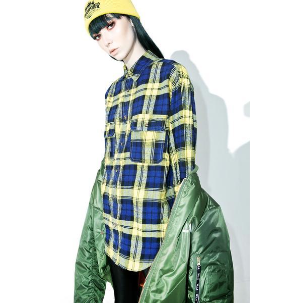 Dub Nation Flannel
