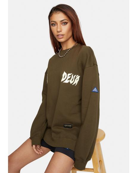 Devil Graphic Crewneck