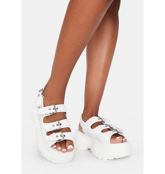 Koi Footwear Out My Way Platform Sandals