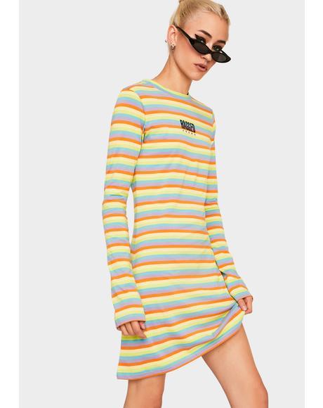 Twister Ringer Dress