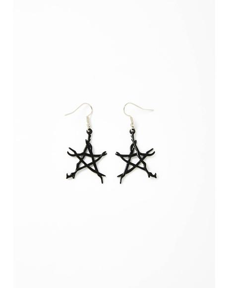 For A Spell Star Earrings