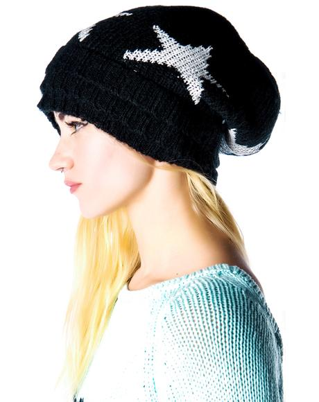 Seeing Stars Layered Beanie