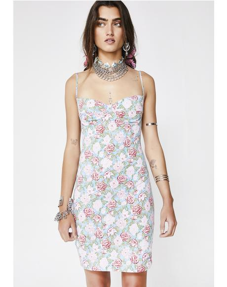 Bloom Floral Alvina Dress