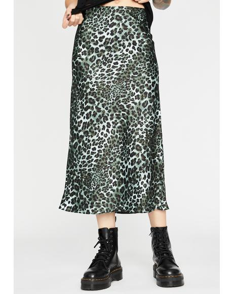 Catty Lush Club Midi Skirt