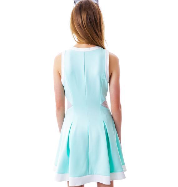 Love Match Tennis Pleated Dress