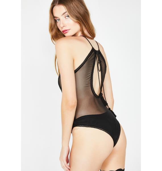 Sugar Thrillz Wicked Minx Sheer Bodysuit