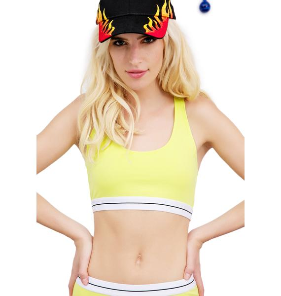 Citrus Squeeze Sports Bra