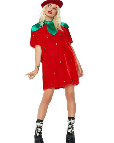 Berry Delicious Strawberry Costume