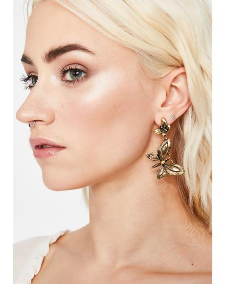 Glitz Glow Drop Earrings