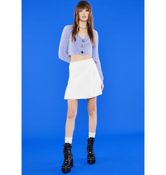 dELiA*s by Dolls Kill Major Meltdown Wrap Skirt