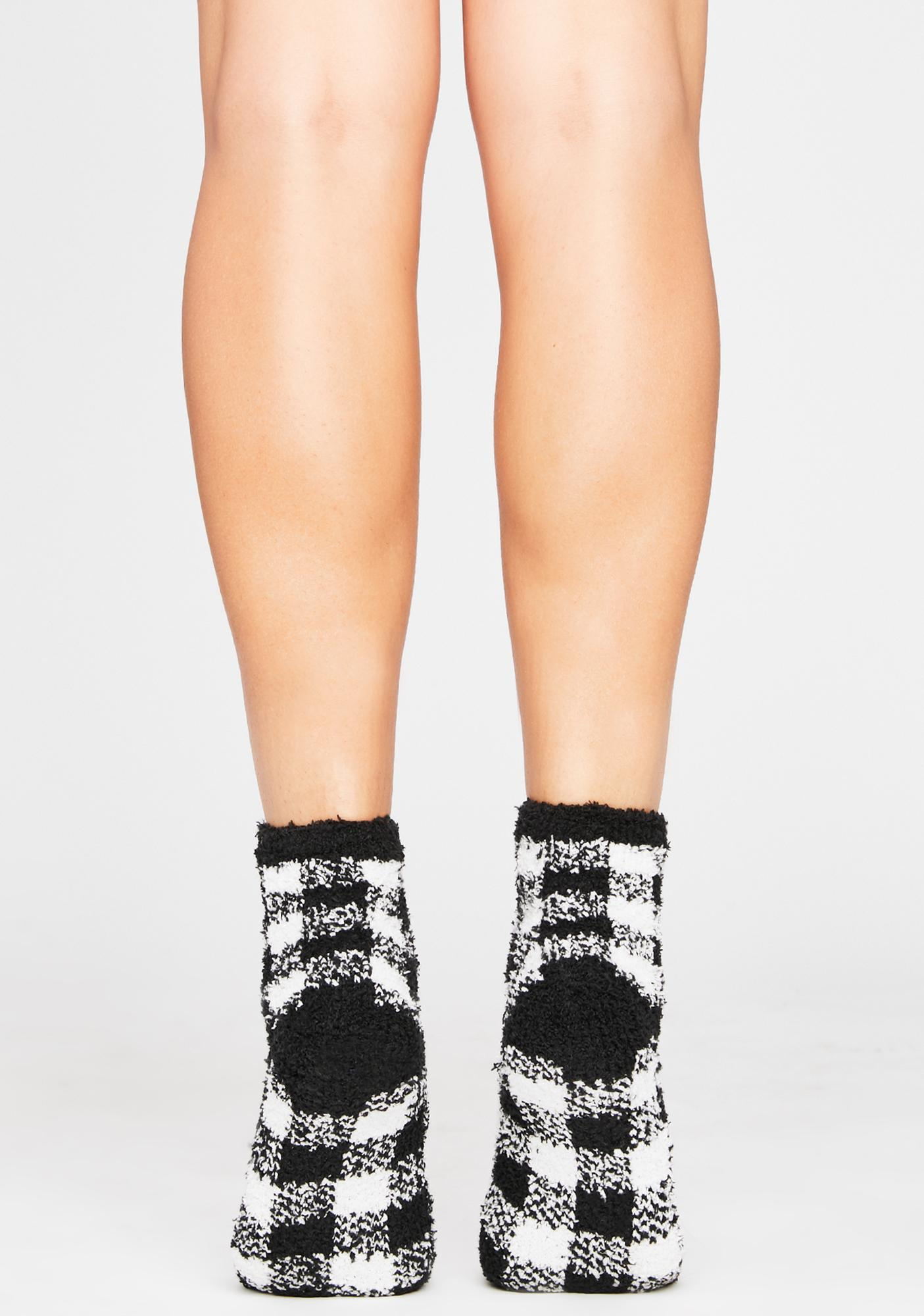 Stand By Me Checkered Socks