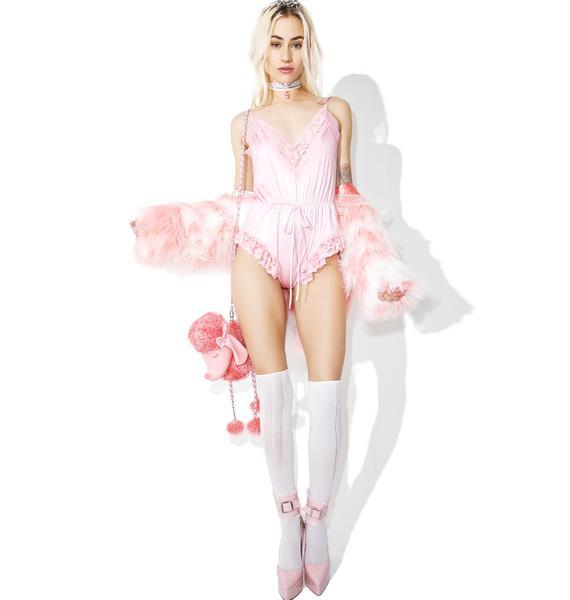 Sugarbaby Sweet Cream Lace Romper