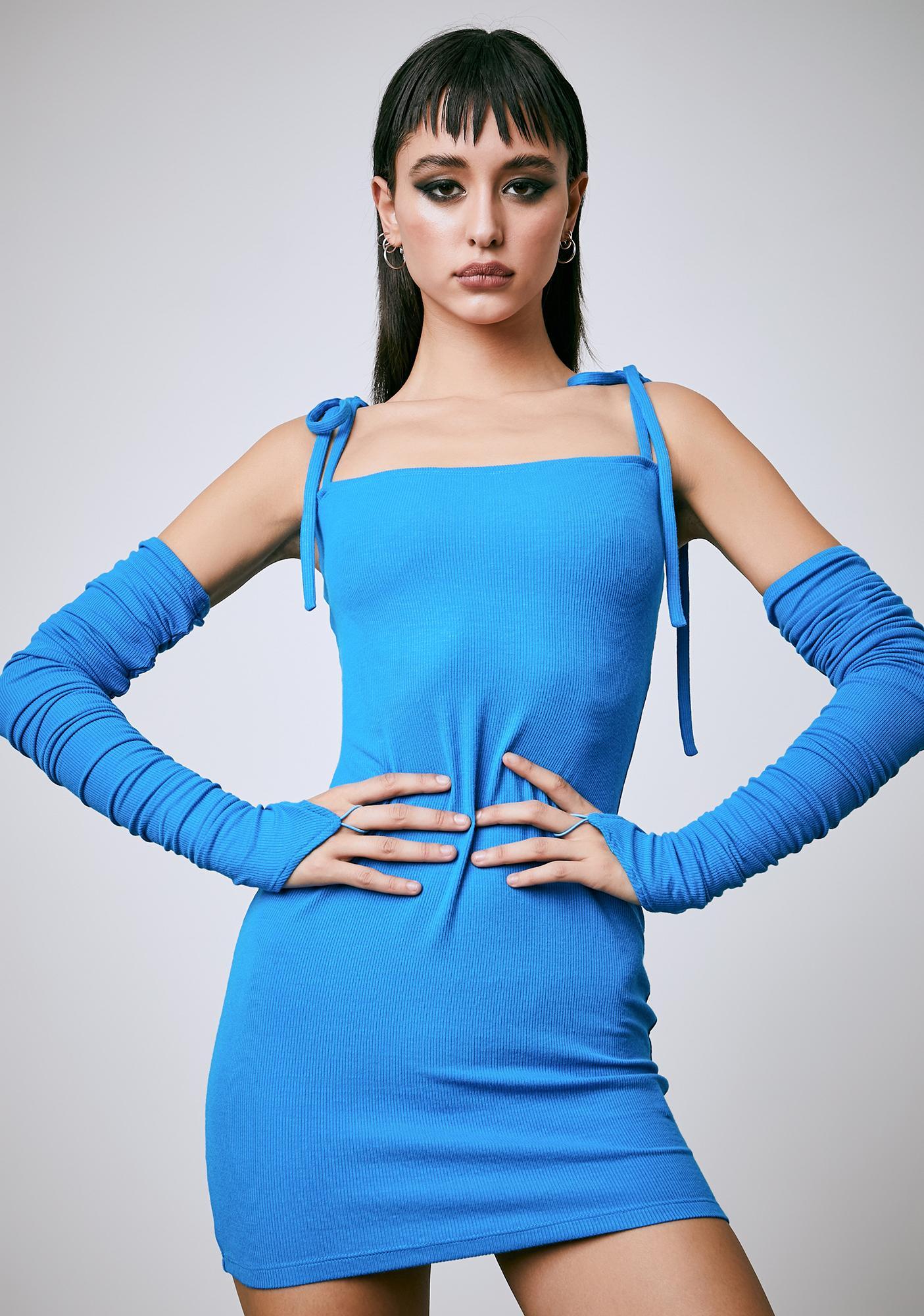 Current Mood Hypnotic Love Bodycon Dress Set