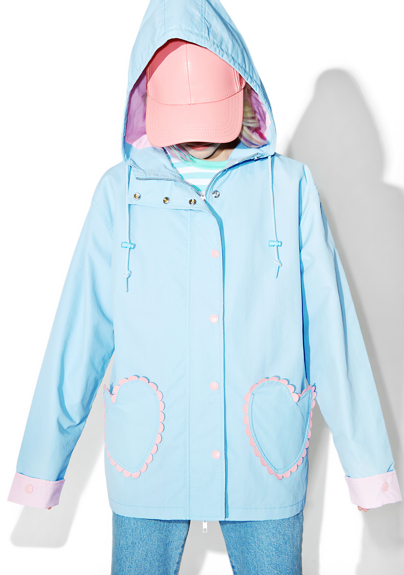 Lazy Oaf Feeling Blue Coat